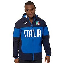 FIGC Italia Hooded Rain Jacket
