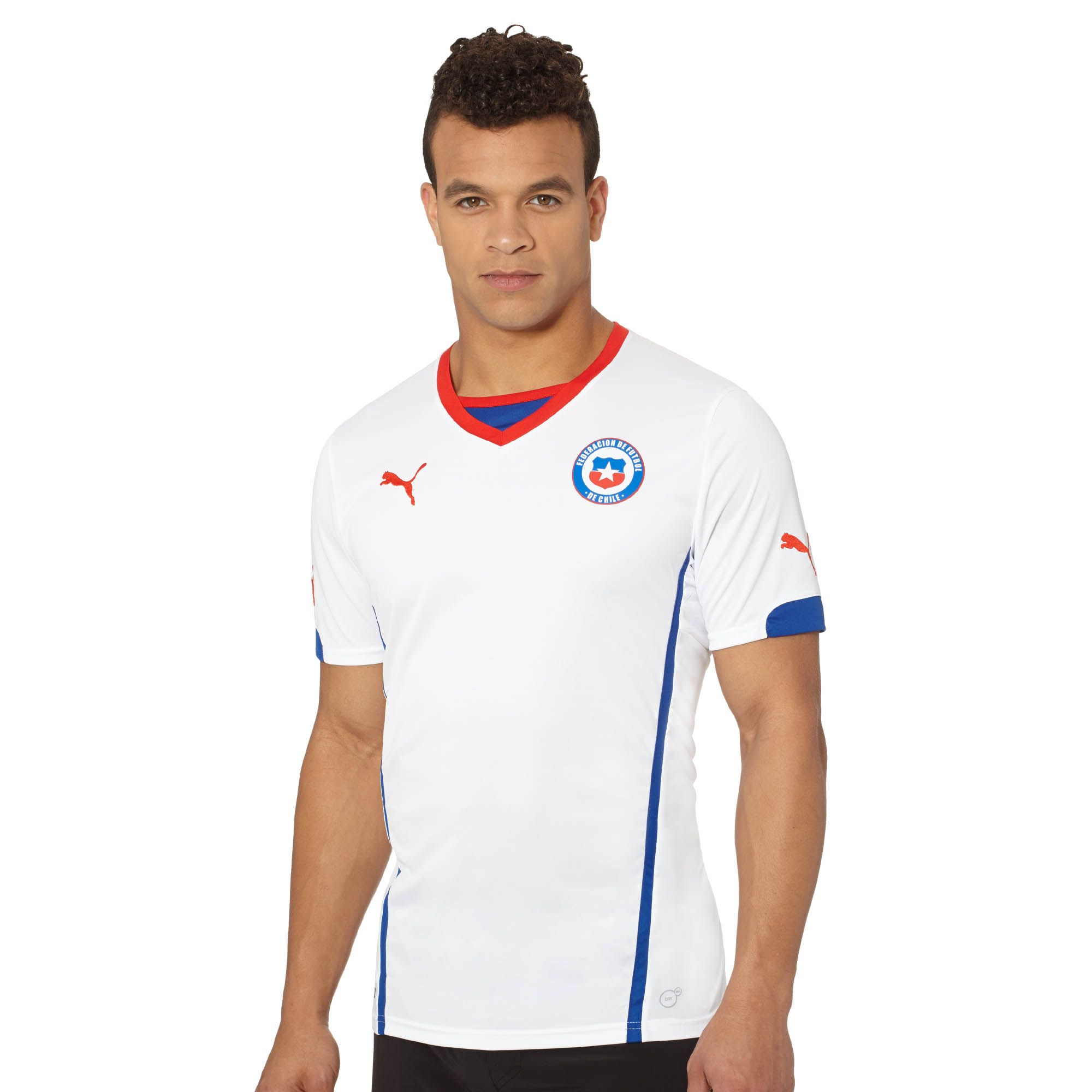 Image of 2015 Chile Away Replica Jersey