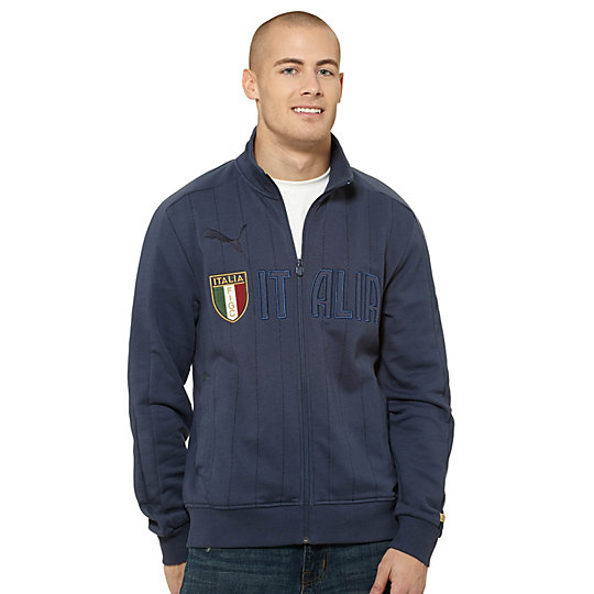 FIGC Italia T7 Zip-Up Sweatshirt