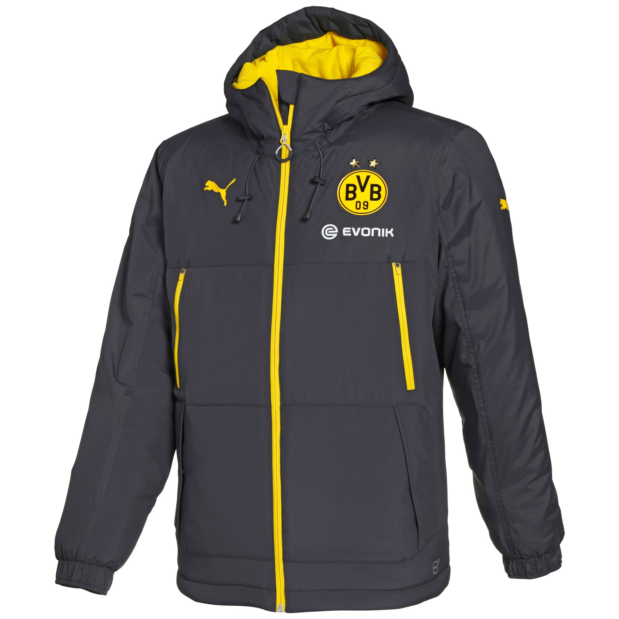 PUMA BVB Bench Jacket Apparel Winter Jackets Football Men