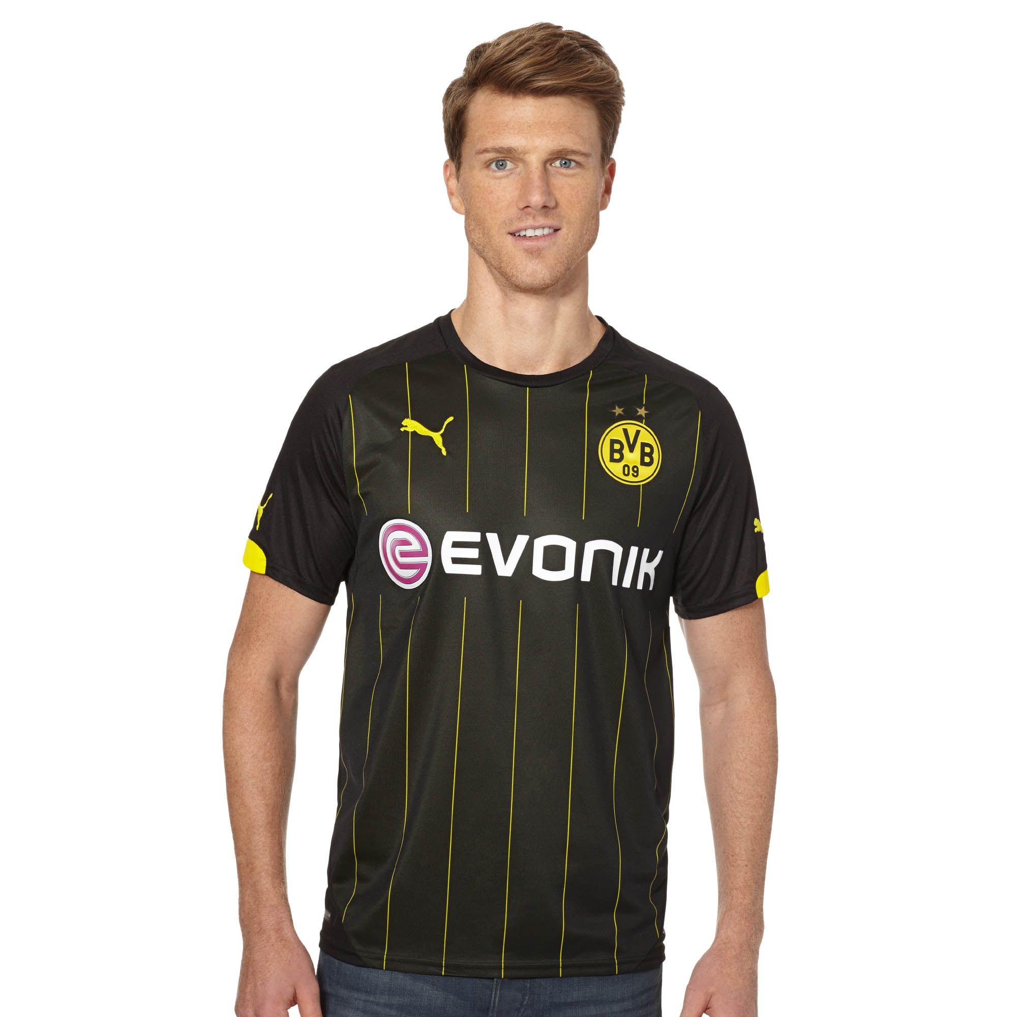 Image of 2015/16 Borussia Dortmund Away Replica Jersey