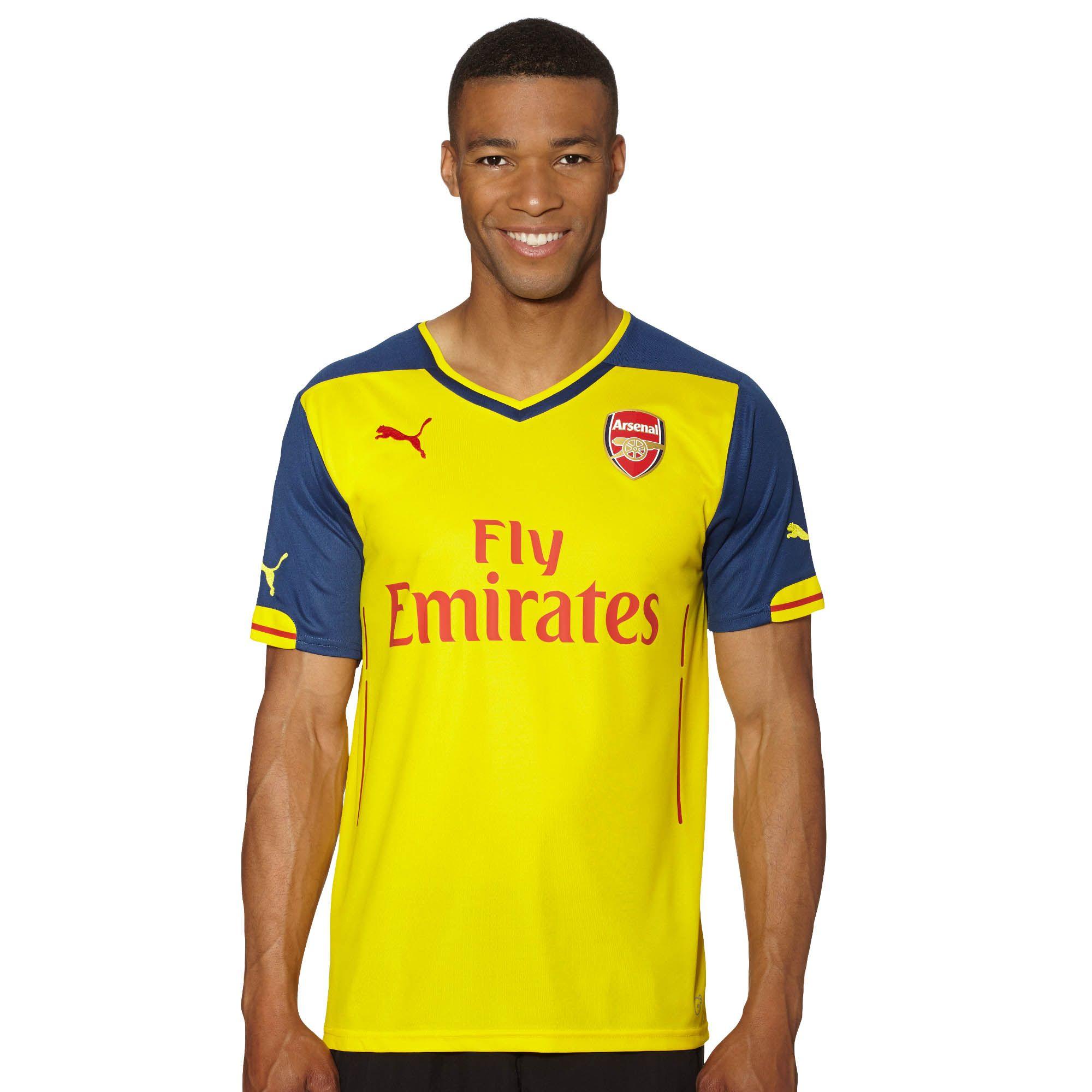 Image of 2014/15 Arsenal Away Replica Jersey