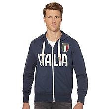 FIGC Italia Zip-Through Hoodie