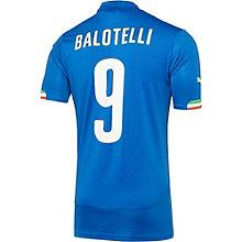 FIGC Italia Balotelli Home Replica Jersey