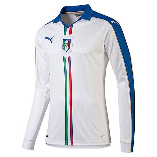 FIGC ITALIA LSアウェイレプリカシャツ