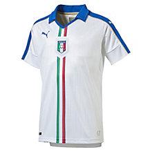 FIGC ITALIA キッズSSアウェイレプリカシャツ