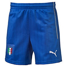 FIGC ITALIA キッズアウェイレプリカショーツ