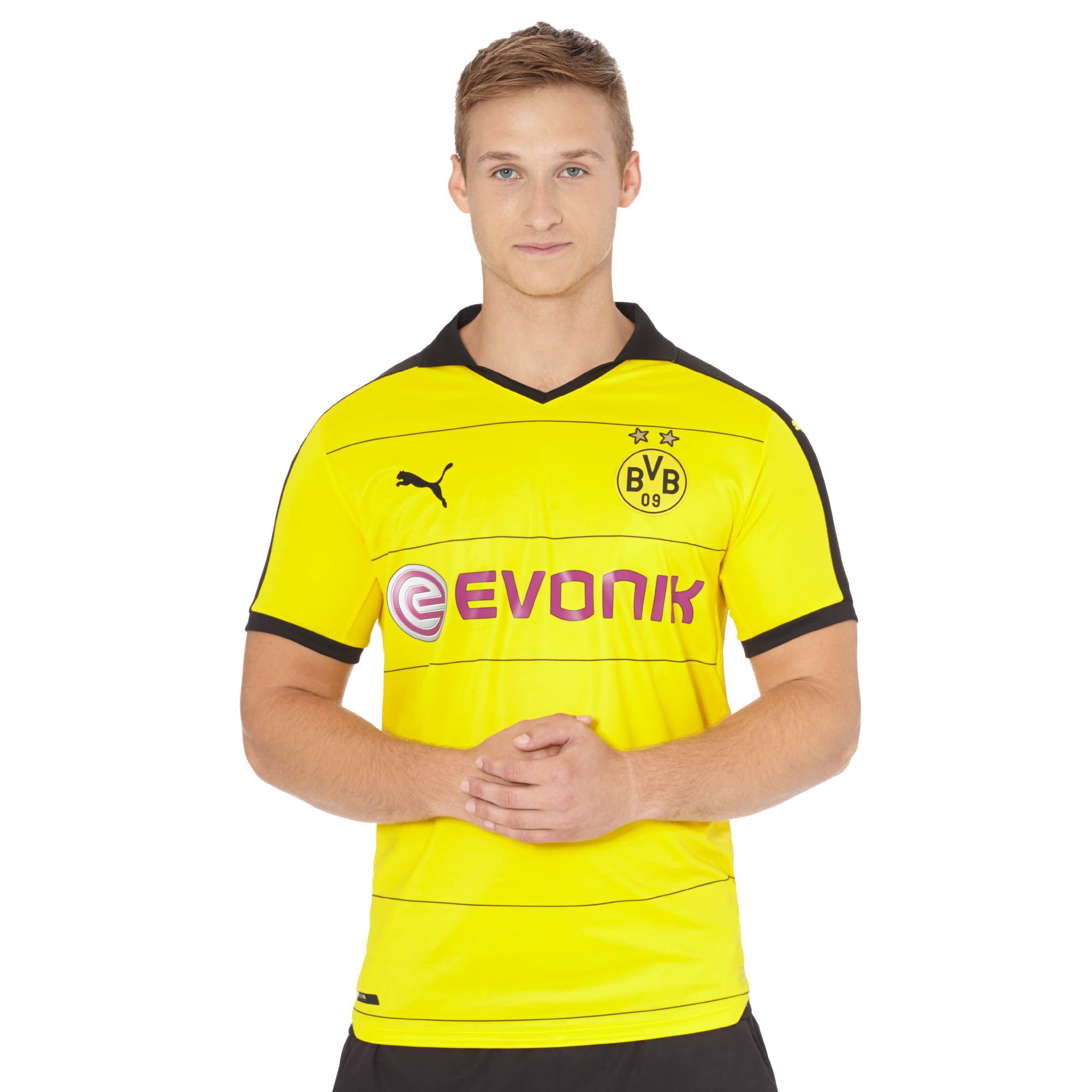 Image of 2015/16 Borussia Dortmund Home Replica Jersey