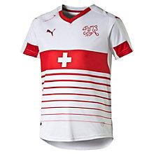 Schweiz Jungen Replica Auswärtstrikot