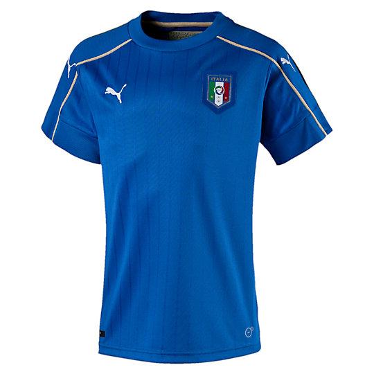 FIGC ITALIA キッズSSホームレプリカシャツ