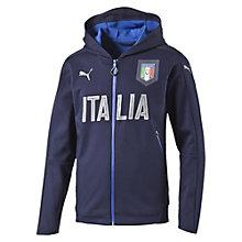 FIGC ITALIA カジュアルパフォーマンスジップスルーフーディー