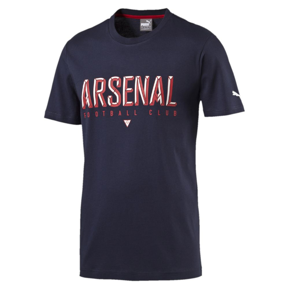 Puma arsenal fan t shirt ebay for Arsenal t shirts sale