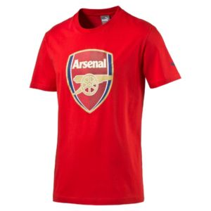 Arsenal Crest Fan Slim T-Shirt