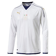 Italia 2006-2016 TRIBUTE Away Men's Replica Long Sleeve Jersey