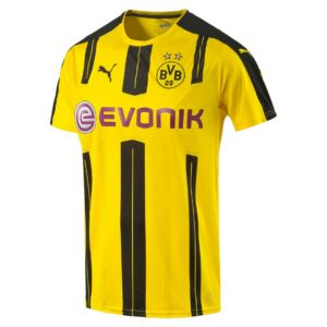 2016/17 BVB Home Men's Replica Jersey