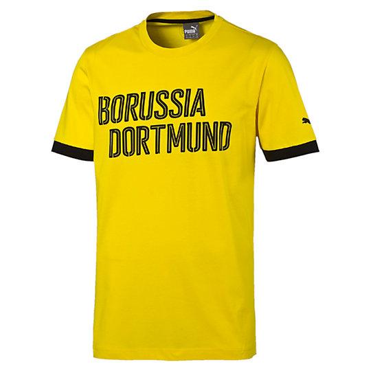 Футболка BVB Borussia TeeФутболки и майки<br>Футболка BVB Borussia TeeВ этой потрясающей футболке вы сможете ощутить себя частью черно-желтой армии фанатов команды из Дортмунда.Коллекция: Осень-зима 2016Состав:100% хлопокВид спорта: ФутболЦвет: желтыйСочетание пигментной и рельефной печатиКруглый вырезКлассический покройСтрана-производитель: Турция<br><br>color: желтый<br>size RU: 50-52<br>gender: Male