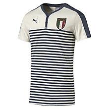 FIGC ITALIA アズーリ ヘンリーTシャツ