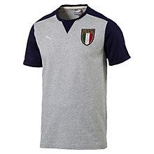 FIGC ITALIAアズーリグラフィックTシャツ
