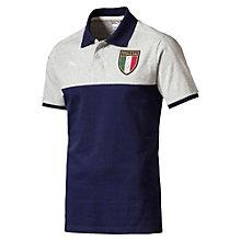 FIGC ITALIAアズーリポロシャツ