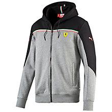 Ferrari hooded track jacket.