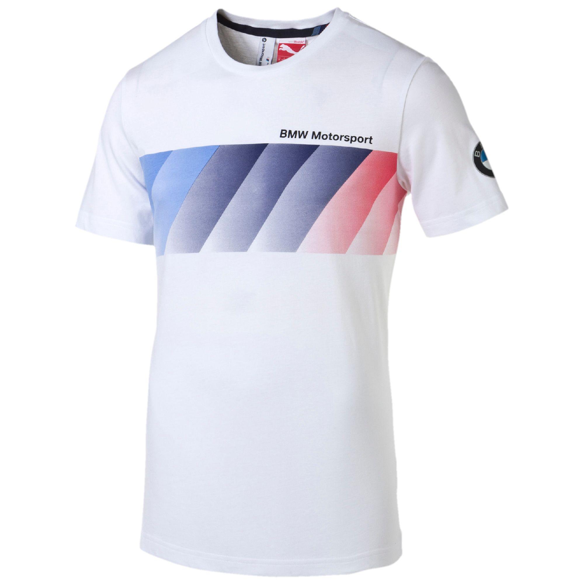 puma bmw motorsport t shirt bekleidung t shirts shirt automotive herren neu ebay. Black Bedroom Furniture Sets. Home Design Ideas