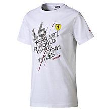 T-Shirt Ferrari pour enfant