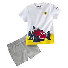 Conjunto de chándal de bebé Ferrari