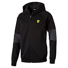 Ferrari Men's Hooded Sweat Jacket