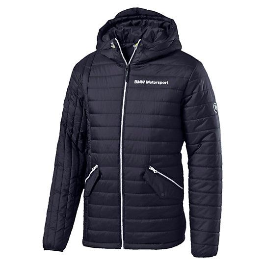 Куртка BMW MSP Padded JacketКуртки, жилеты<br>Куртка BMW MSP Padded JacketСтильная и теплая куртка BMW MSP Padded Jacket. Высокотехнологичный дышащий материал warmCELL удерживает тепло, сохраняя оптимальную температуру тела в холодную погоду.Коллекция: Осень-зима 2016Состав: 100% полиэстерТехнологии: warmCELL Цвет: синийСтрана-производитель: Вьетнам<br><br>size RU: 44-46<br>gender: Male