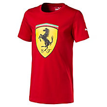 Ferrari Boys' Big Shield T-Shirt