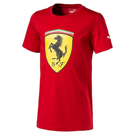 T-Shirt Ferrari Big Shield pour garçon