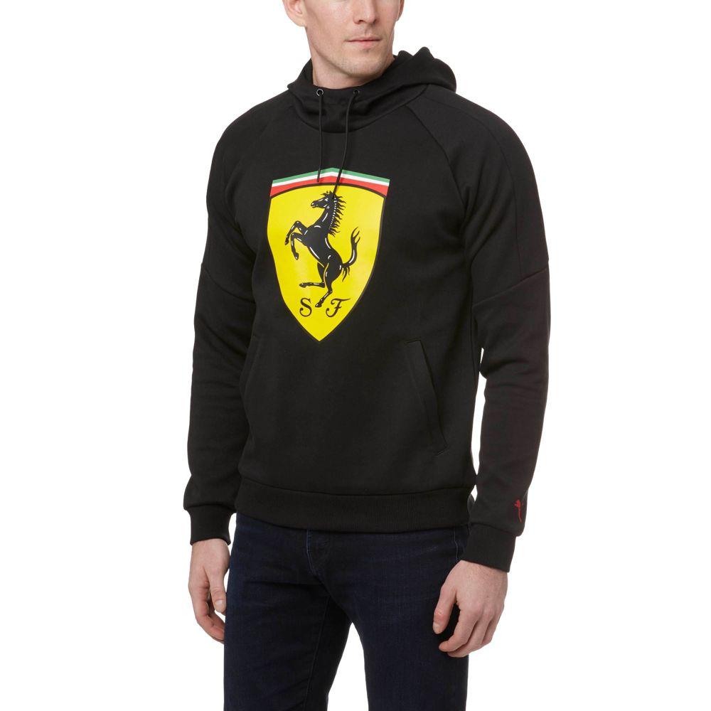 Puma Ferrari Big Shield Hoodie Ebay