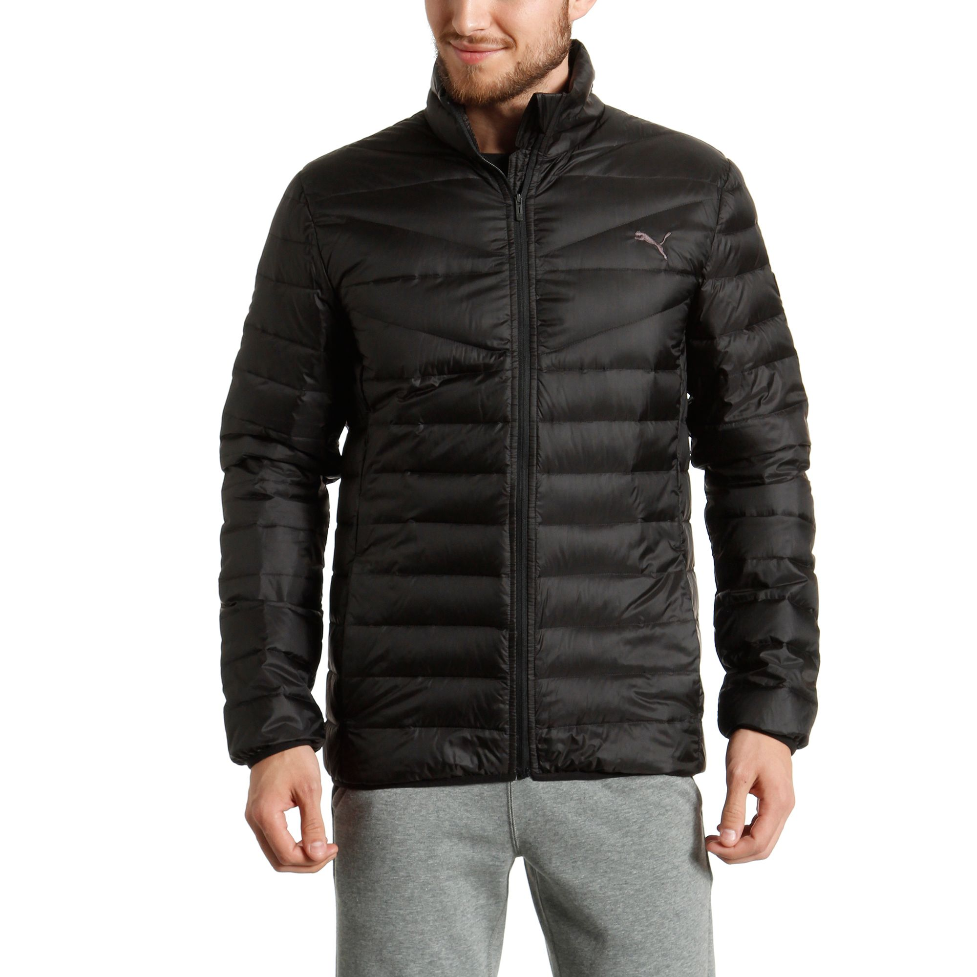 PUMA Lightweight Padded Down Jacket Apparel Winter Jackets Basics ...