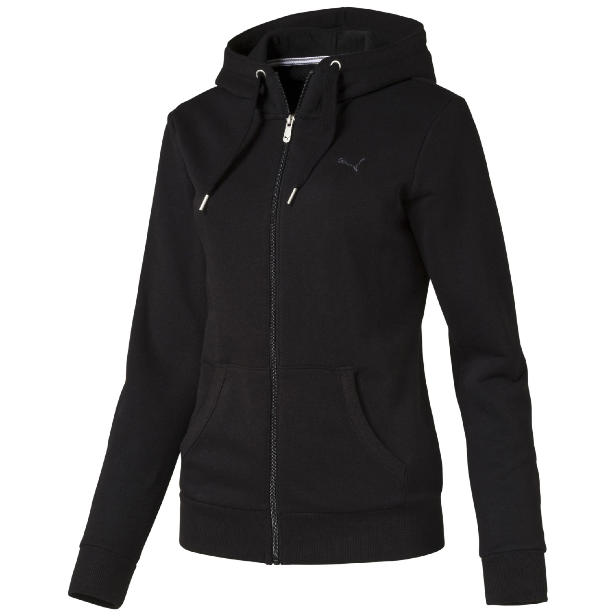 puma fleece kapuzenjacke bekleidung sweatshirt basics damen neu. Black Bedroom Furniture Sets. Home Design Ideas
