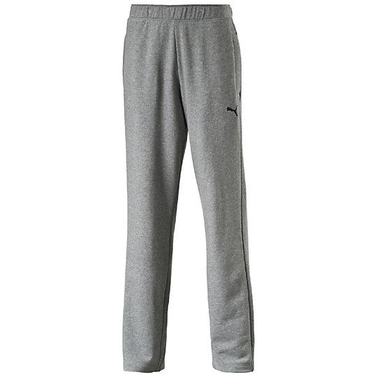 Брюки ESS SweatБрюки<br>Брюки ESS SweatСпортивные брюки ESS Sweat из мягкого, приятного телу материала идеально подойдут ведущему активный образ жизни мужчине. Модель имеет свободный крой, который очень удобен для занятий спортом. Оригинальный, стильный внешний вид брюк дополняет вышитый логотип PUMA Cat. Благодаря высокому качеству исполнения они прослужат вам не один год.Коллекция: весна-лето 2016 годаСостав: 70% хлопок, 30% полиэстерТкань поддерживает оптимальную температуру телаБрюки оснащены карманамиЭластичный пояс, оснащенный затягивающимися шнурами, обеспечивает максимально комфортную посадку<br><br>color: серый<br>size RU: 44-46<br>gender: Male