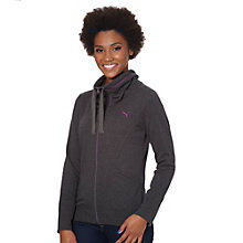 Extended Neck Zip-Up Jacket