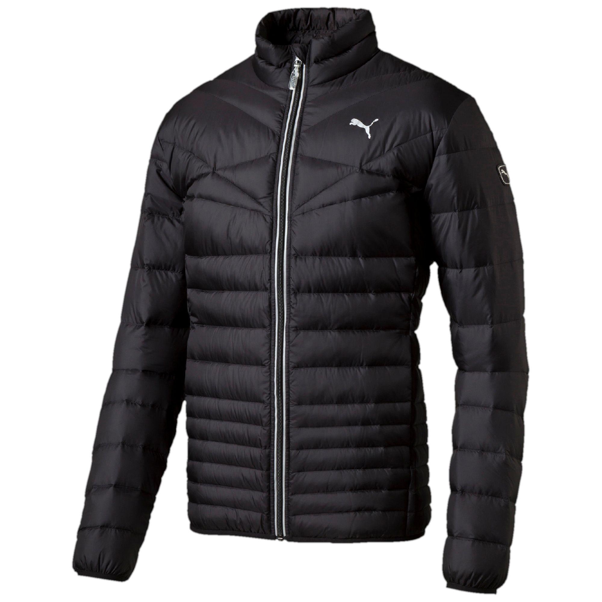 PUMA Herren Jacke ACTIVE 600 PackLITE Down Jacket, Black