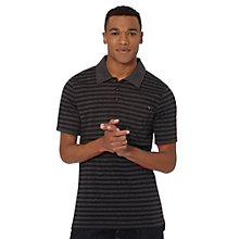 Bi-Color Striped Polo Shirt