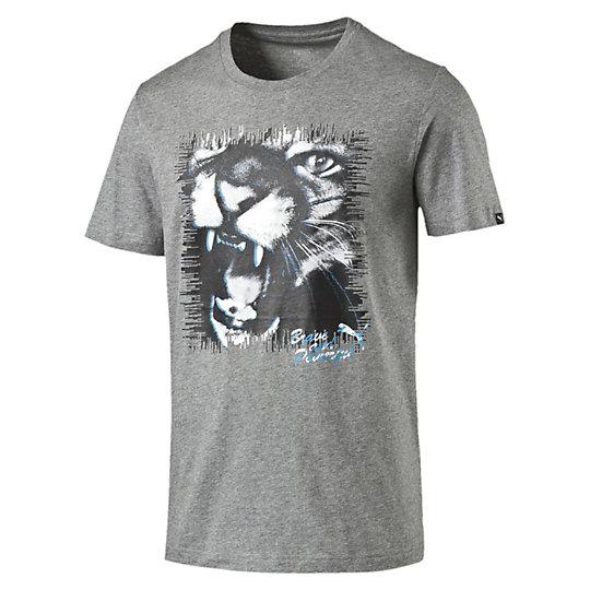 Футболка Cat TeeФутболки и майки<br>Футболка Cat Tee<br>Эта классическая футболка от PUMA прекрасно дополнит образ и будет уместна как во время прогулок, так и небольшой активности.<br><br>Сезон: Весна-лето 2016<br>Графический пигментный принт<br>Материал dryCELL<br>Материал: 100% хлопок<br><br><br>color: серый<br>size RU: 42-44<br>gender: Male