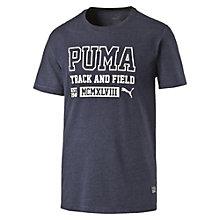 T-Shirt Style Athletic moucheté