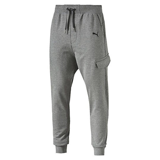 Брюки STYLE Sweat Pants TR, cl.Брюки<br>Брюки STYLE Sweat Pants, TR, cl.<br><br>Брюки STYLE Sweat Pants, TR, cl. от Puma - это комфорт и стиль в одном. Мужские брюки, созданные из хлопка станут удобной одеждой на каждый день, отлично регулируют температуру тела. Мягкий натуральный материал, боковые карманы, пояс на регулируемой тесьме и манжеты на штанинах создают максимальный комфорт для ношения в любой ситуации. Брюки украшены вышитым логотипом Puma.<br><br><br>        Коллекция: Весна-лето 2016 года<br>        Графический принт с логотипом Puma<br>        Боковые карманы<br>        Материал: 100% хлопок<br><br><br>color: серый<br>size RU: 48-50<br>gender: Male