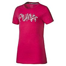 T-Shirt Logo pour fille