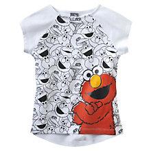 T-Shirt 1, Rue Sésame pour fille