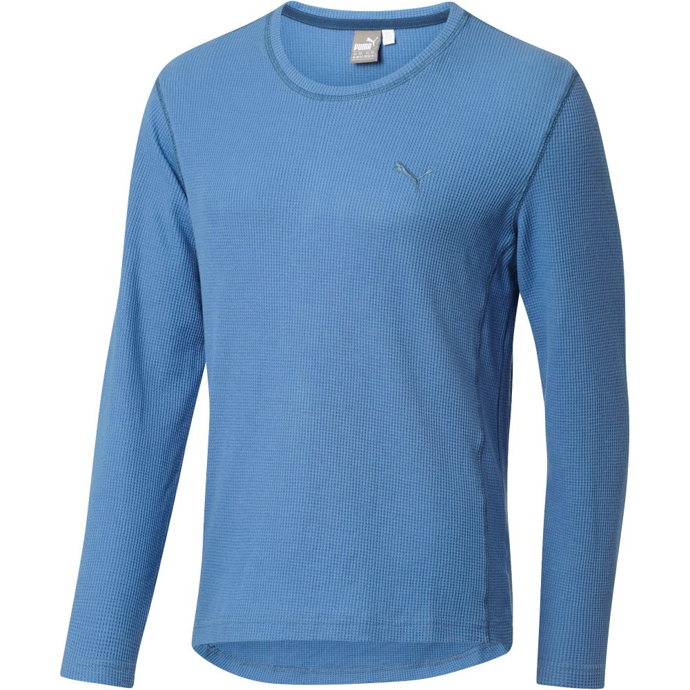 Puma long sleeve thermal t shirt ebay Thermal t shirt long sleeve