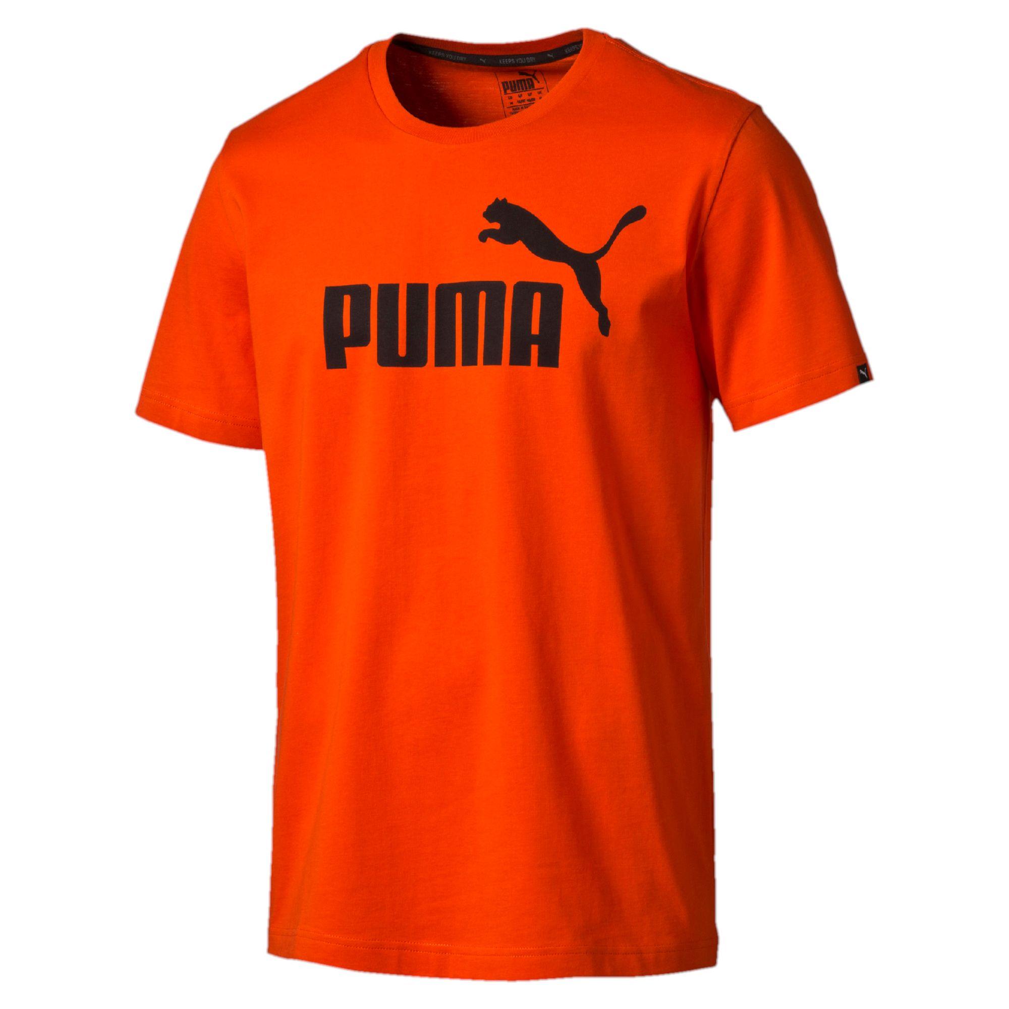 puma style no 1 logo herren t shirt basics t shirt m nner neu ebay. Black Bedroom Furniture Sets. Home Design Ideas
