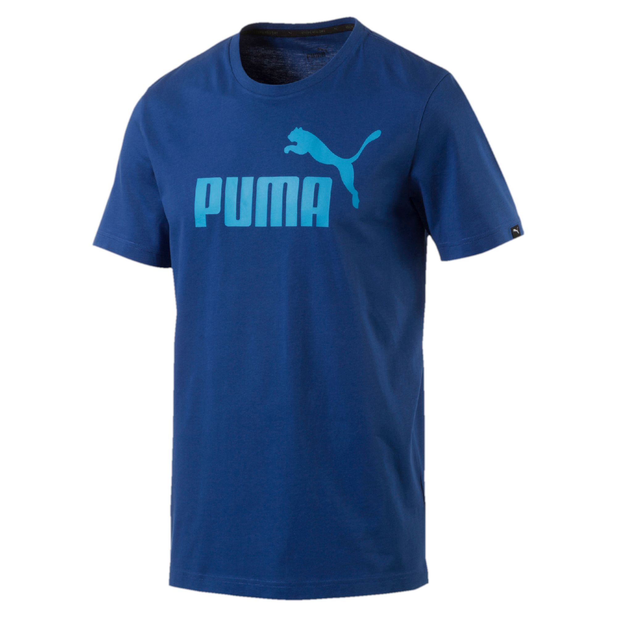 puma style no 1 logo herren t shirt m nner t shirt basics neu ebay. Black Bedroom Furniture Sets. Home Design Ideas