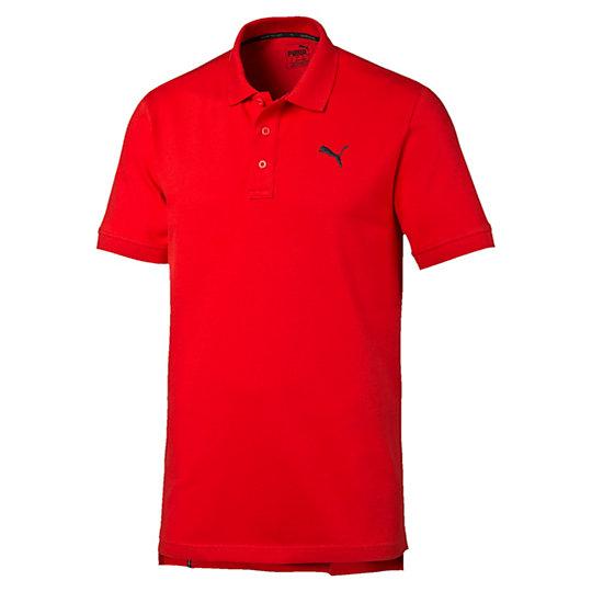 Поло ESS Pique PoloПоло<br>Поло ESS Pique Polo<br>Незаменимая вещь для вашей коллекции футболок: мягкая, прочная и неподвластная времени.<br><br>Коллекция: Осень-зима 2016<br>Состав: 97% хлопок 3% эластан<br>Технологии: dryCELL отводит влагу для обеспечения тепла и комфортаЦвета: серый, красный, синий, голубой<br>Планка с тремя пуговицами<br>Вышитый логотип PUMA в виде силуэта пумы на груди слева<br>Страна-производитель: Бангладеш<br><br><br>size RU: 46-48<br>gender: Male