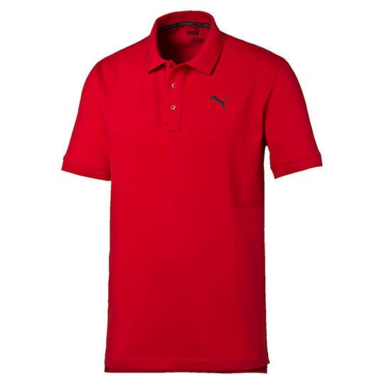 Поло ESS Pique PoloПоло<br>Поло ESS Pique Polo<br>Незаменимая вещь для вашей коллекции футболок: мягкая, прочная и неподвластная времени.<br><br>Коллекция: Осень-зима 2016<br>Состав: 97% хлопок 3% эластан<br>Технологии: dryCELL отводит влагу для обеспечения тепла и комфортаЦвета: серый, красный, синий, голубой<br>Планка с тремя пуговицами<br>Вышитый логотип PUMA в виде силуэта пумы на груди слева<br>Страна-производитель: Бангладеш<br><br><br>size RU: 50-52<br>gender: Male