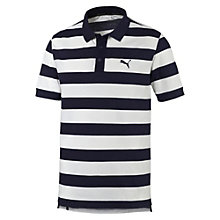 Поло ESS Striped Pique Polo