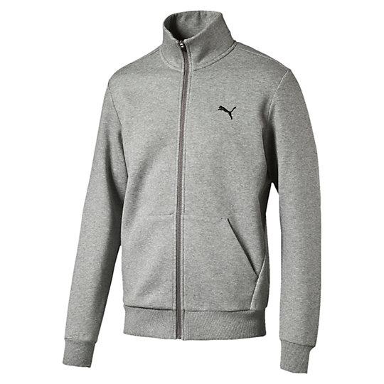 Олимпийка ESS Sweat Jacket, FLТолстовки и худи<br>Олимпийка ESS Sweat Jacket, FLОлимпийка ESS Sweat Jacket, FL  обеспечит вам комфорт во время тренировки и станет удачным дополнением вашего спортивного образа. Коллекция: Осень-зима 2016Состав:66% хлопок, 34% полиэстерЦвета: черный, серыйСтрана-производитель: Китай<br><br>size RU: 52-54<br>gender: Male